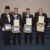 Master Mason Rookie Award Recipients from Golden Rule Lodge
