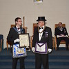 Past Master Certificate Recipient.  Golden Rule Lodge