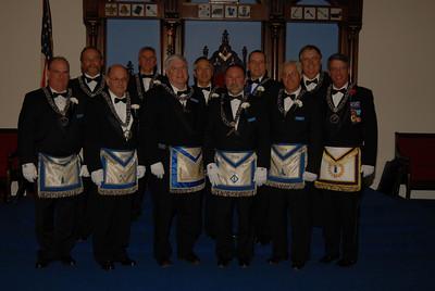 RW Bob Crockets Installation as Master Wm Parkman Lodge