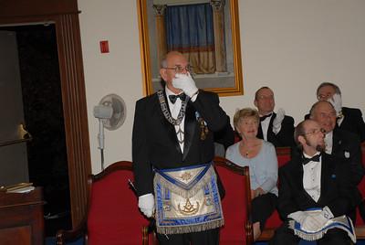 Warren Johnson received the Distinguished Joseph Warren Medal