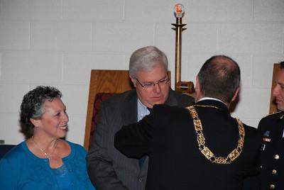 Wor Paul DeLuca receives Distinguished Joseph Warren Medal Nov 1, 2010