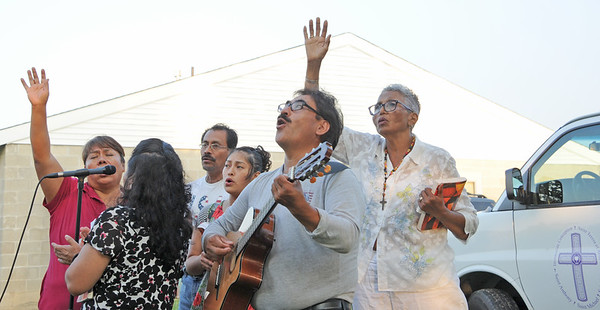 MASS IN THE FIELDS FOR THE FARMWORKERS- 08/06/19