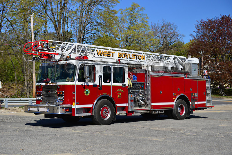WEST BOYLSTON LADDER 2 - 1998 SPARTAN/SMEAL 1500/500/75'