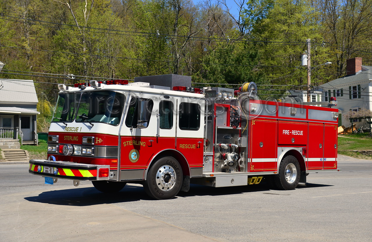 STERLING RESCUE 1 - 1990 EMERGENCY ONE HUSH 1250/500