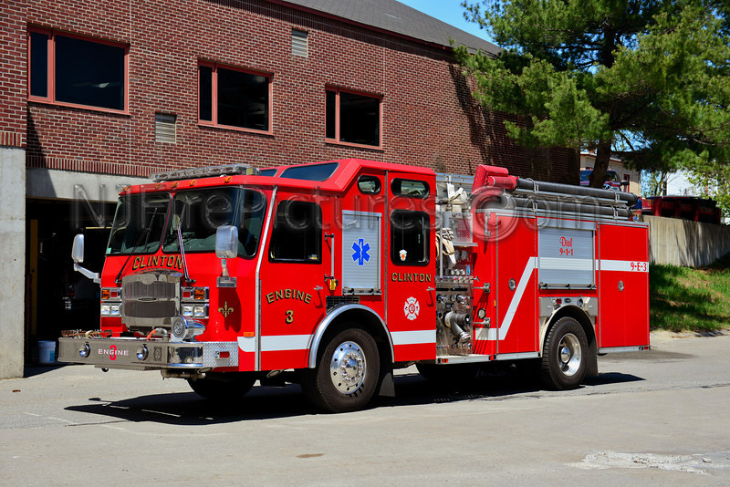 CLINTON ENGINE 3 - 2005 EMERGENCY ONE TYPHOON 1500/1000