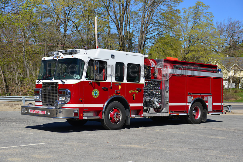 WEST BOYLSTON ENGINE 1 - 2007 SPARTAN/SMEAL 1500/1000/20/20