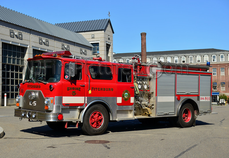 FITCHBURG ENGINE 5 - 1982 MACK CF/EJ MURPHY 1500/750