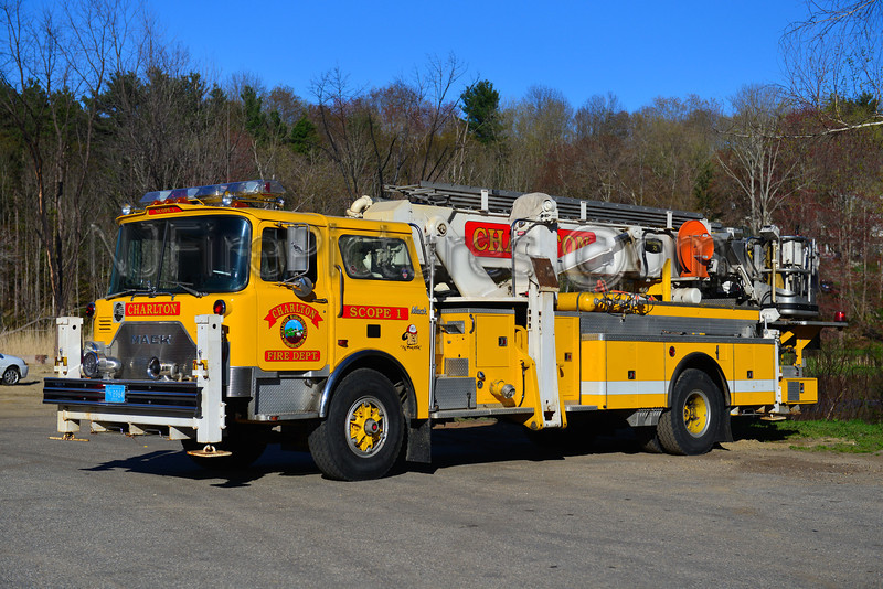 CHARLTON SCOPE 1 - 1974 MACK CF/BAKER 75' EX-FDNY TL-158 / EX-OLD FORGE PA / EX-TAYLOR, PA