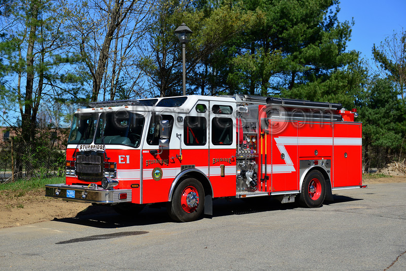 STURBRIDGE ENGINE 1 - 2010 EMERGENCY ONE TYPHOON 1500/1000/30