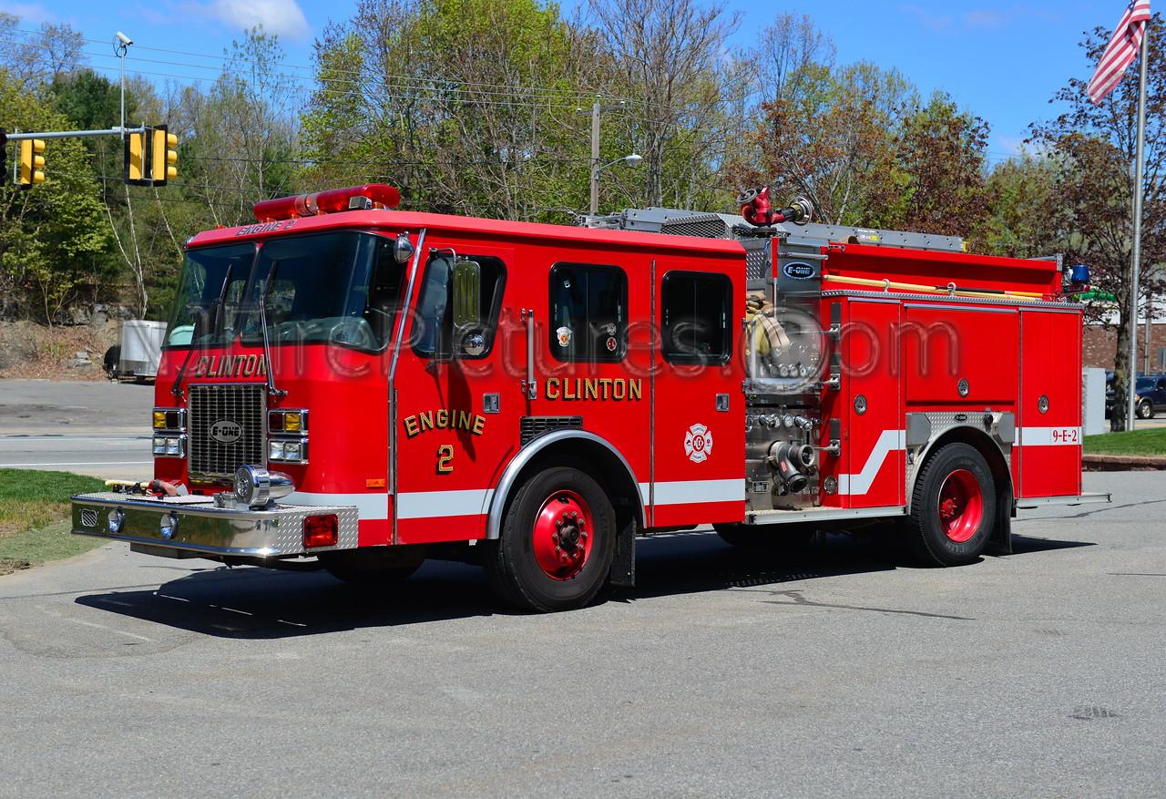 CLINTON ENGINE 2 - 1995 EMERGENCY ONE 1500/1000