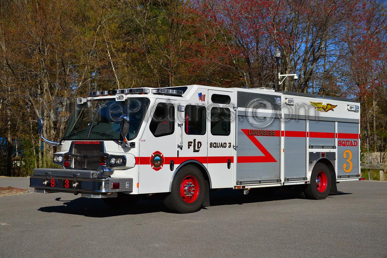 LUNENBURG SQUAD 3 - 2008 EMERGENCY ONE QUEST 1500/750/125A/125B