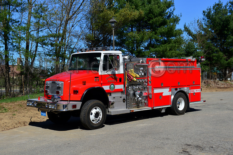 STURBRIDGE ENGINE 3 - 2005 FREIGHTLINER FL80/EMERGENCY ONE 4X4 1500/1000