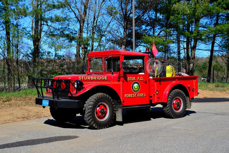 STURBRIDGE FOREST FIRE 1 - 1954 DODGE POWER WAGON 200/250