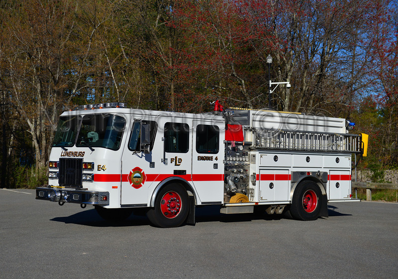 LUNENBURG ENGINE 4 - 1995 EMERGENCY ONE 1000/1500/20