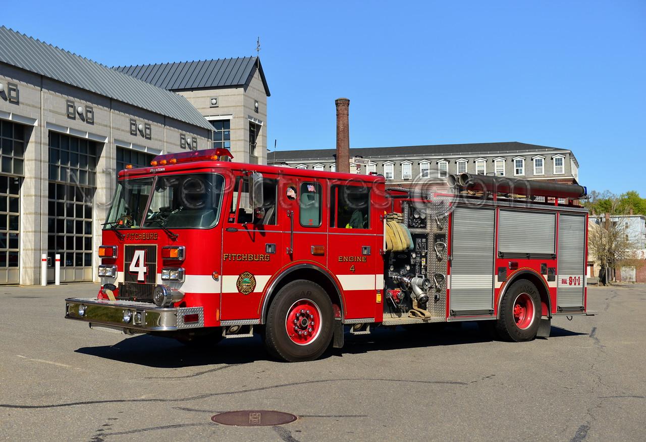 FITCHBURG ENGINE 4 - 1997 PIERCE SABER 1500/750