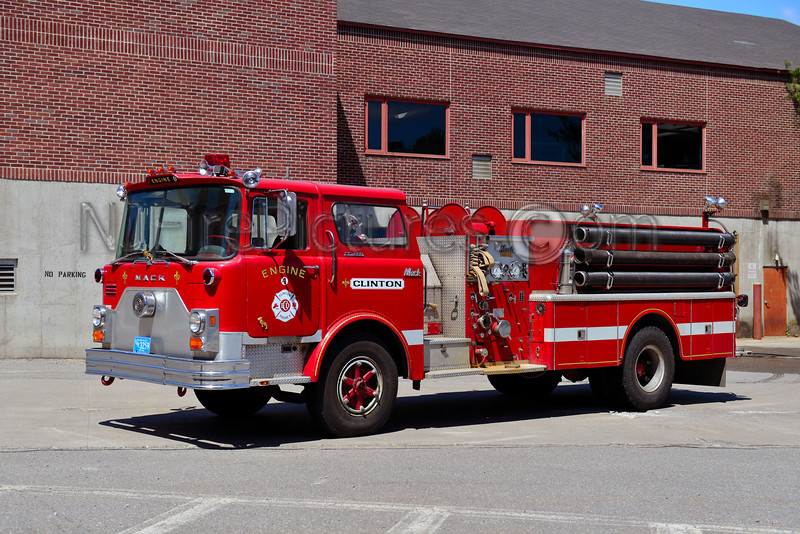 CLINTON ENGINE 4 - 1974 MACK CF 1250/1000  EX-STERLING MA.