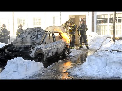 MASSAPEQUA CAR FIRE VIDEO