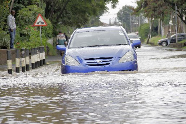 DRIVING IN WATER
