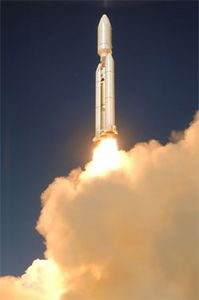 Titan IV B-36 launched October 19, 2005 from Vandenberg AFB California