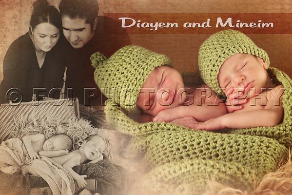 Diayem and Mineim