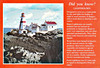 CANADA - HEAD HARBOUR LIGHTHOUSE - Built in 1829 on East Quoddy Head, this is the oldest lighthouse in New Brunswick and retains all of it's original buildings - posted March 15th, 1988.