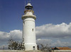 CYPRUS - PAPHOS LIGHTHOUSE - Built in 1888 at the southwestern corner of the island, it was used as a first landfall for shipping arriving from Britain.