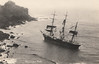 1896 - 09/25 - September 25th - ALEXANDER YEATS - 3-masted Ship - 1589GRT - 66.5 x 12.2 - 1876 David Lynch, Portland, New Brunswick - G Windron, Liverpool - On September 17th, 1896, loaded with deals, battens and boards from Savannah, she was ordered to unload at Devonport Dockyard. Storms caused her deck cargo to shift and she developed a bad list to port. Despite the efforts of the crew, she struck heavily in high seas under Gurnard Head. 19 of her crew were landed by breeches-buoy. Much of her cargo was salvaged but the ship broke up and sank.