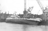 1969 - 04/23 - April 23rd - LOLES (Panama) - IMO5351820 - Cargo/Wine Tanker - 1019GRT/1034DWT - 70.7 x 10.0 - 1953 Van Scheeps Duivendijk's, Lekkerkerk, No.Z53 - Alp Transportation SA - seen at Great Yarmouth on April 23rd, 1969, when she suffered stability problems after her cargo of scrap metal was loaded with due regard. She was righted and continued her journey to Spain without major damage, only to sink in the Aegean Sea nine years later.