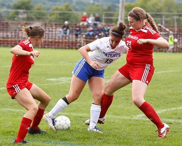 MAU Girls Soccer. 092316