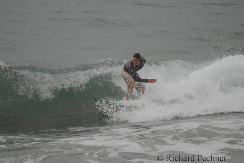 Zack dripping wet