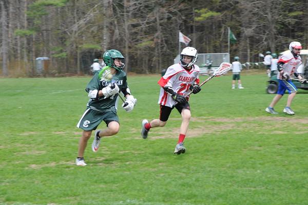 Thirds Lacrosse vs. Claremont