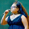 Kevin Harvison | Staff photo<br /> Jordyn Washington performs during the Emerson Elementary School Annual Talent Show Tuesday.