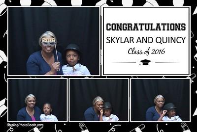 Skylar & Quincy's Graduation