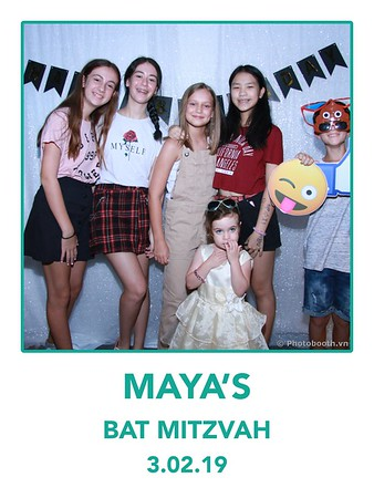 MAYA's Birthday polaroid-style instant print photobooth - Chụp hình in ảnh lấy liền Tiệc Sinh nhật