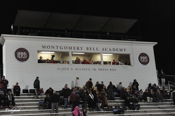 MBA Varsity Football State Playoffs- vs Baylor