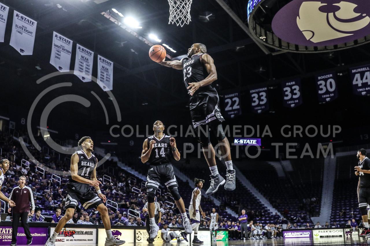 Kansas State University plays Missouri State University at Bramlage Coliseum on October 21, 2017 (Photo By Cooper Kinley   Collegian Media Group)