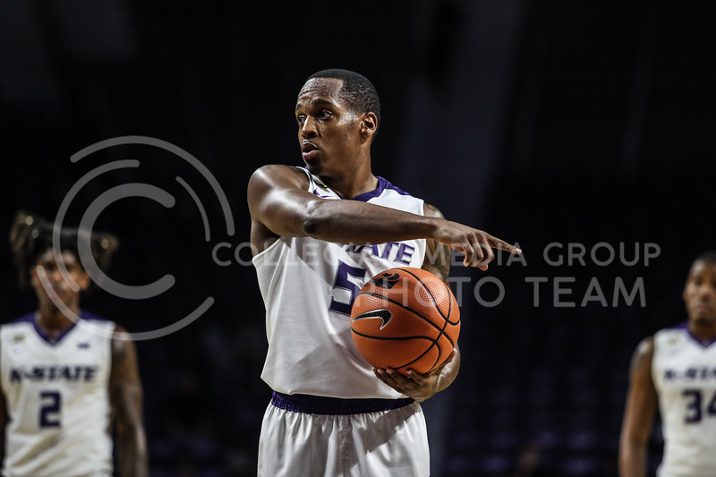 Kansas State University plays Missouri State University at Bramlage Coliseum on October 21, 2017 (Photo By Cooper Kinley | Collegian Media Group)