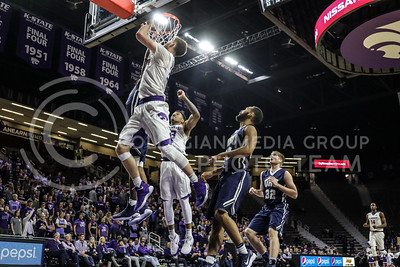 Oral Roberts University plays Kansas State University in Basketball at Bramlage Coliseum in Manhattan, Kansas on November 29th, 2017 (Photo by Cooper Kinley | K-State Athletics / Collegian Media Group)