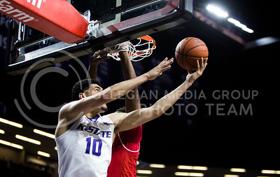 The basketball game between K-State and Texas Tech in Bramlage Coliseum on March 4, 2017. (Emily Starkey | The Collegian)