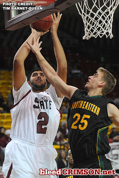 Sim Bhullar (5) puts up a shot