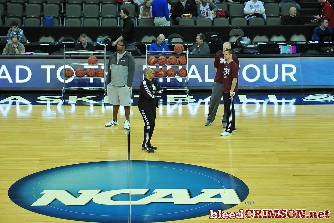 March 19, 2015: NCAA Men's Basketball Tournament Interviews and Open Practice Session.