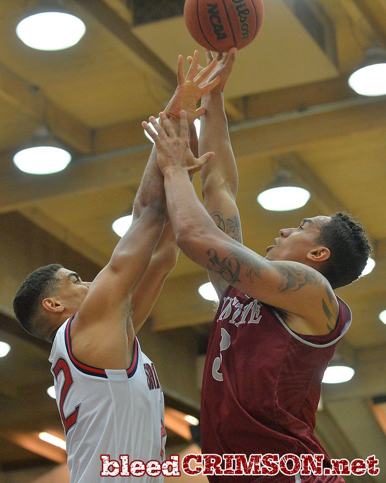 Nov. 18, 2014: New Mexico State Aggies forward Remi Barry (3) takes a contested shot during a game between New Mexico State vs. St. Mary's College in Moraga, Calif. in the ESPN College Hoops Tipoff Marathon. Saint Mary's defeated New Mexico State 83-71.