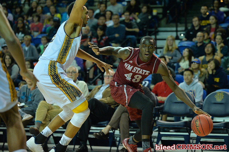 Jan 2, 2016: in a game between New Mexico State and UC Irvine at the Bren Events Center in Irvine, Calif. The Anteaters defeated the Aggies 54-52.