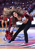 LAS VEGAS, NV - MARCH 08:  A New Mexico State Aggies Sundancer performs during halftime of the team's quarterfinal game of the Western Athletic Conference basketball tournament against the Chicago State Cougars at the Orleans Arena in Las Vegas, Nevada. The Aggies won 97-70.