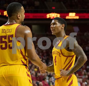 Scene from NCAA basketball game between Iowa State and Maryland Eastern Shore at Hilton Coliseum in Ames, Iowa on December 20, 2017. Photo by Wesley Winterink.
