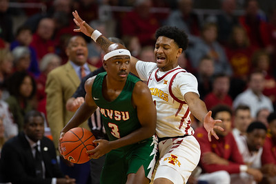 Scene from NCAA basketball game between Mississippi Valley State and Iowa State at Hilton Coliseum in Ames, Iowa on November 5, 2019. Photo © Wesley Winterink..