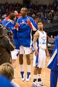 March 12, 2009 KU v Baylor MBB Big12 027