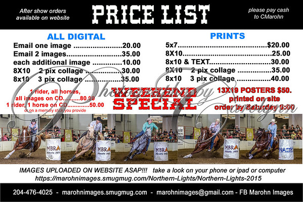 MBRA PRICE LIST 2015 copy