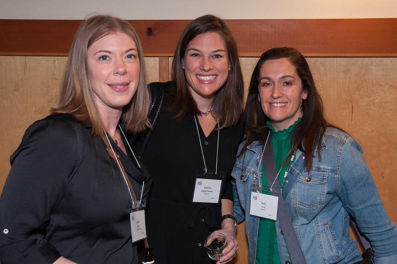 l-r Carrie Bohm; Gwynna Biggers Norman, Molly Honig