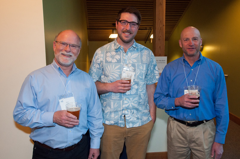 l-r Boating Council President, Ross Tilghman; Coach Dan Rinker; Jordan Rosenfeld
